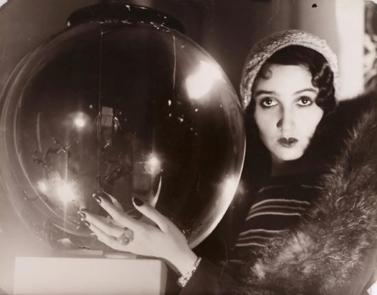 Jacques-Henri Lartigue. The crystal Ball 1931. Via theredlist