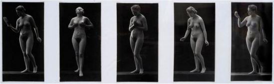 Jean-Marie Auradon. Nus (set of 6) 1920-1930. Via atnet