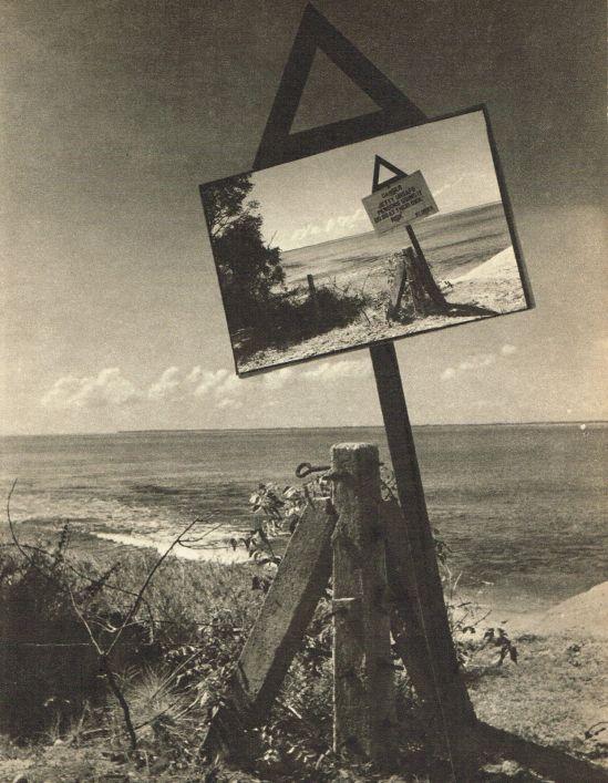 Lionel Wendt. Beach landscape. Via ebay