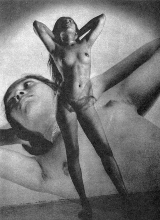 Lionel Wendt. Opiate dreams 1950. Via liveauctioneers