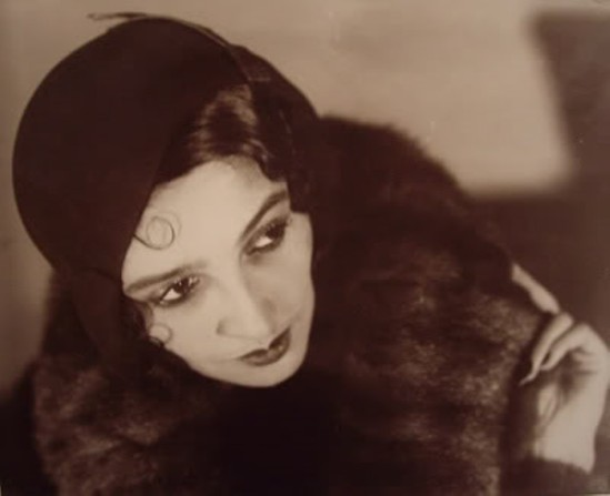 Portrait of Renée Perle by Jacques-Henri Lartigue, 1930. Via theredlist
