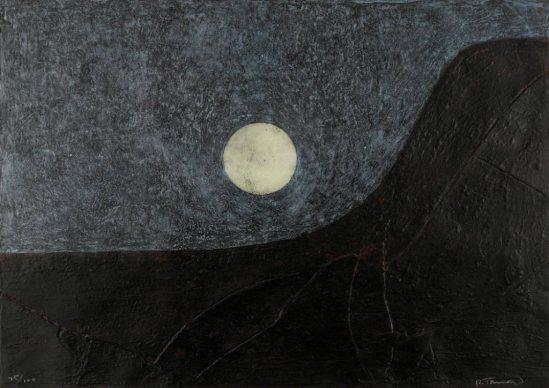 Rufino Tamayo. Landscape with moon 1977