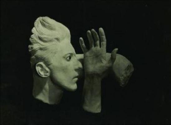 Sacha Masour. Tentative pour pétrifier l'abstrait. Le sang d'un poète 1930. Via artnet