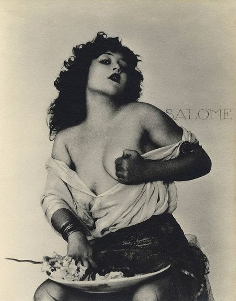 William Mortensen. Salomé 1932 . Via whmortensen.