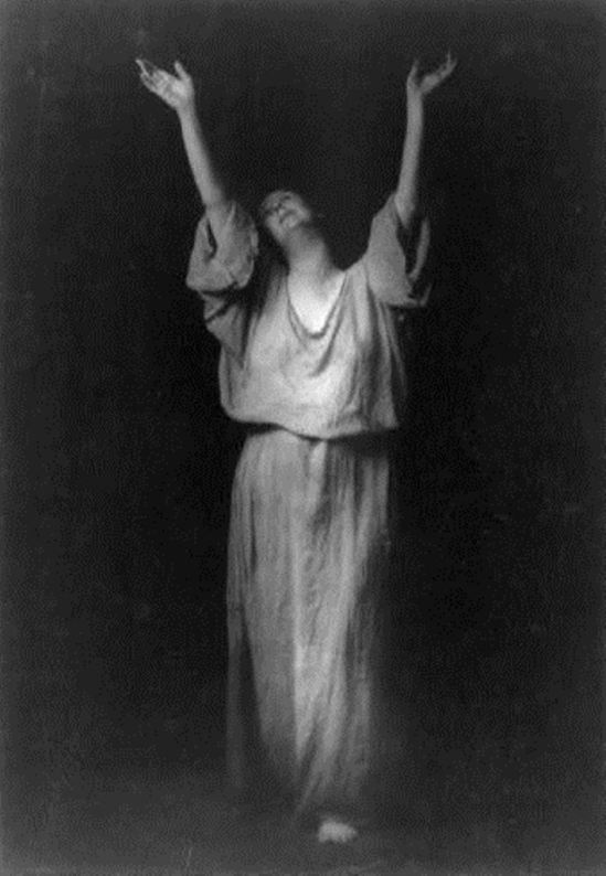 Arnold Genthe. Isadora Duncan. Via ebay