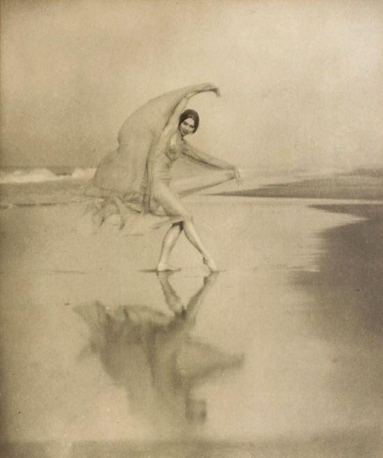 Arnold Genthe. Margaret Severn, Scarf dance 1923. Via ebay