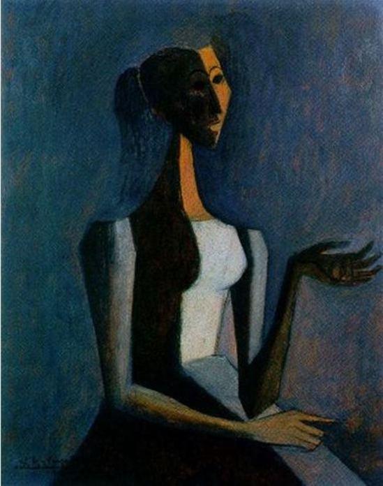 Carlos Orozco Romero. Lady luck 1955