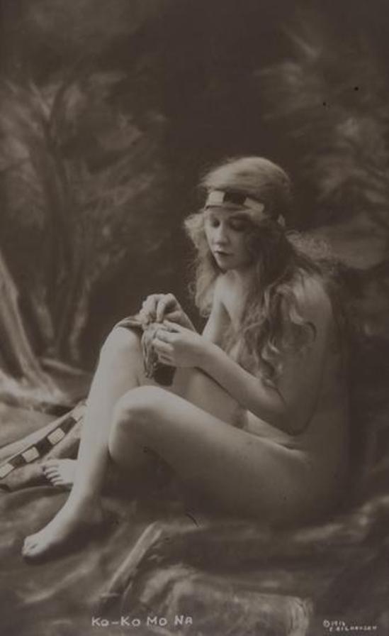 Charles Wesley Gilhousen. Ko-Ko Mo Na 1916. Via mutualart