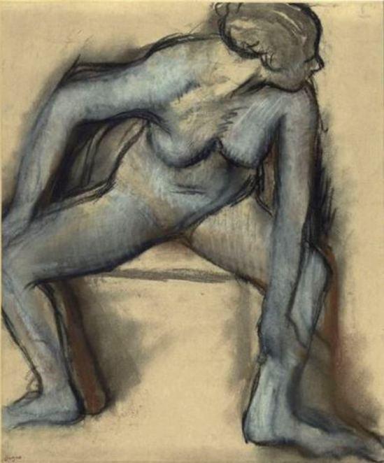Edgar Degas. Danseuse en maillot vers 1896