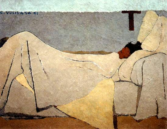 Edouard Vuillard. In bed 1891