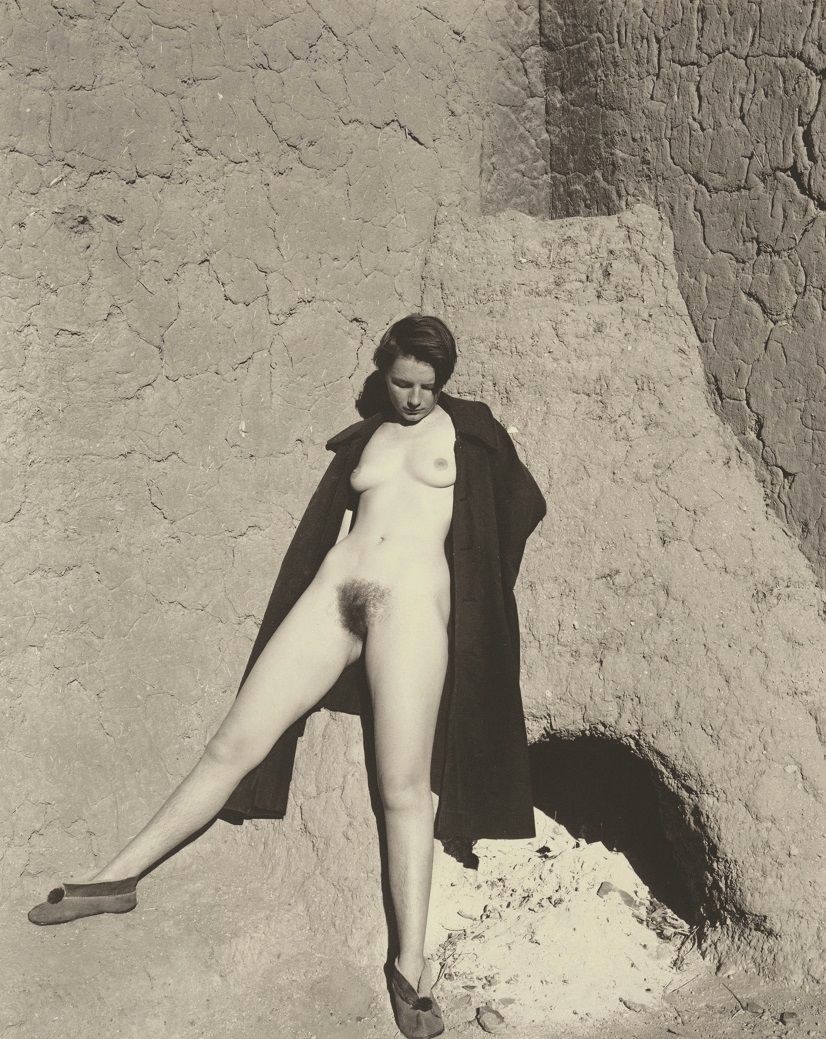 Full nude curvy women