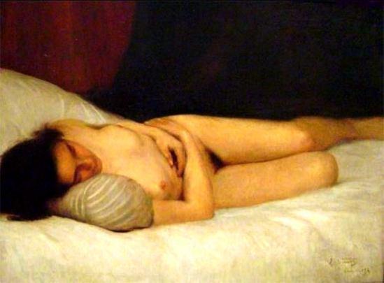 Eliseu Visconti. Nu féminin