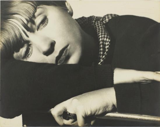Florence Henri. Portrait composition, Tulia Kaiser vers 19301. Via jeudepaume