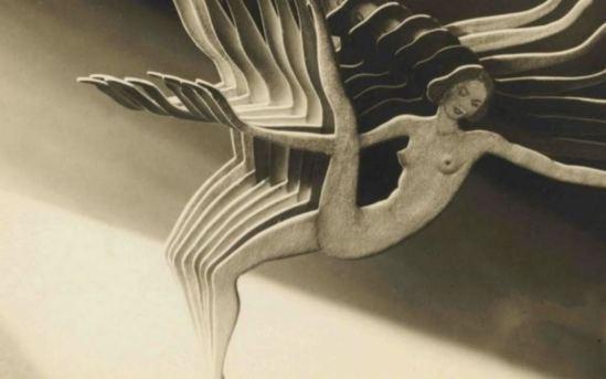 Frantisek Drtikol1 (1883-1961).  Collage. Via alafoto