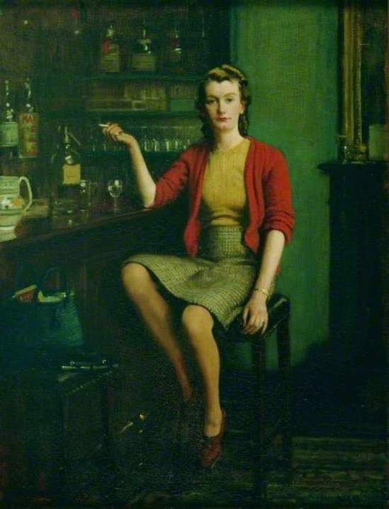 Frederick William Elwell. In a bar 1943