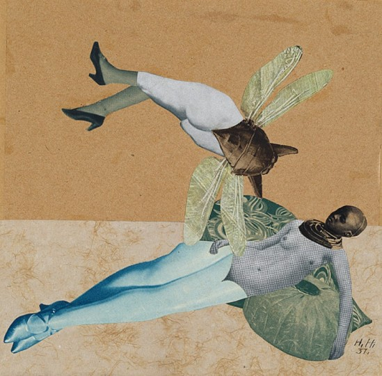 Hannah Höch. Love 1931. Via nga.gov.au