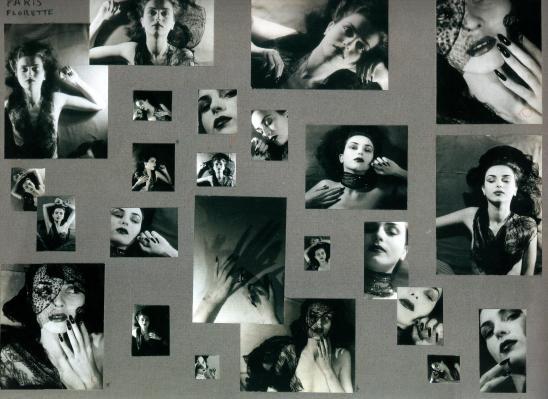 Jacques-Henri Lartigue. Florette, Paris 1944. Scan de Lartigue, l'album d'une vie. ®Centre Pompidou, Editions du Seuil 2003 (2)