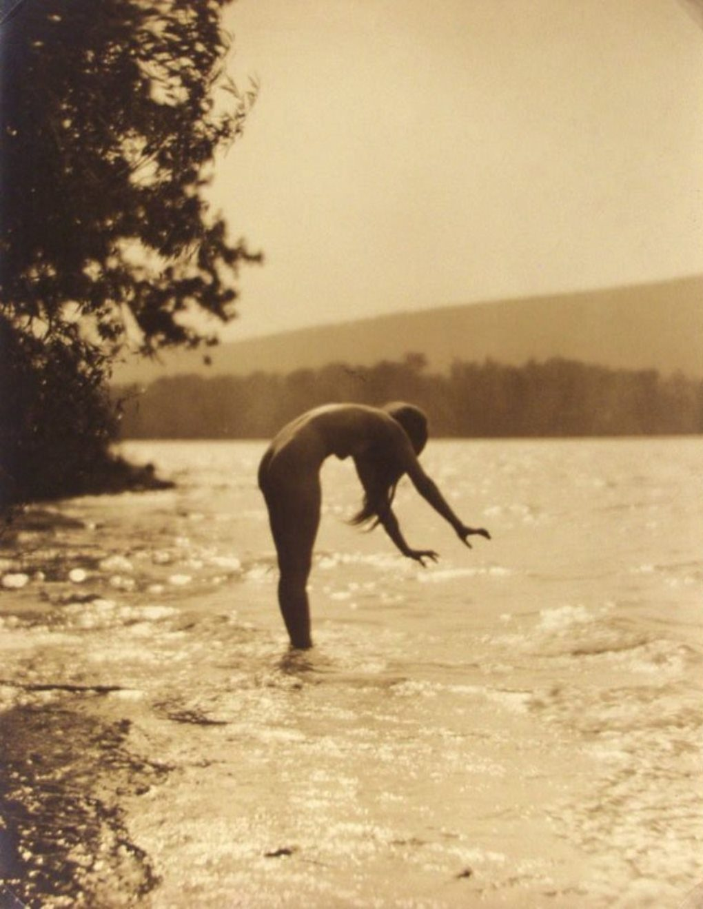 James Abbe. Worshipping the water 1921 Via liveauctioneers