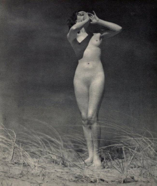 John Everard. Nude 1936. Via liveauctioneers