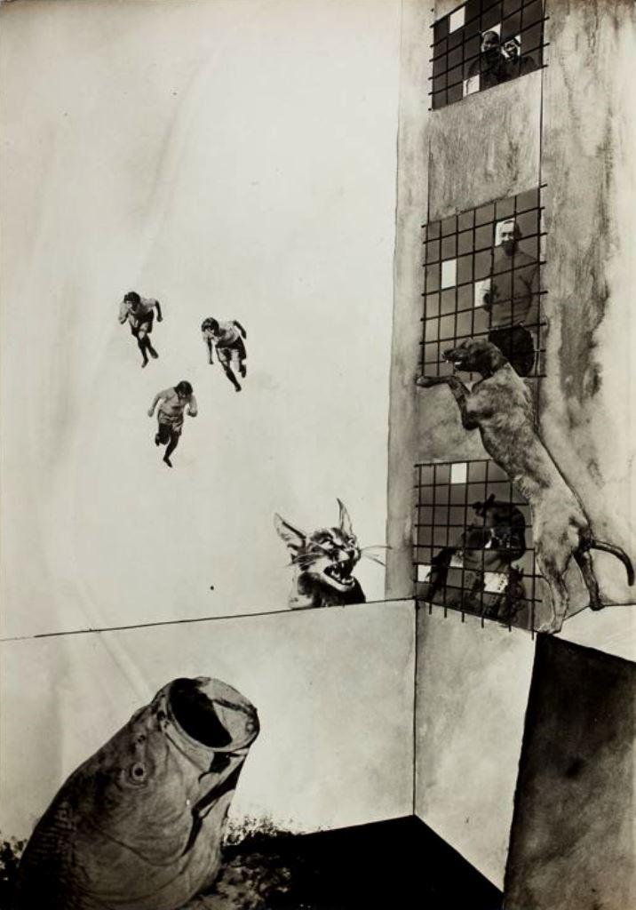 Laszlo Moholy-Nagy. The mavericks II (Die eigenbrötler II) 1927. Via artic