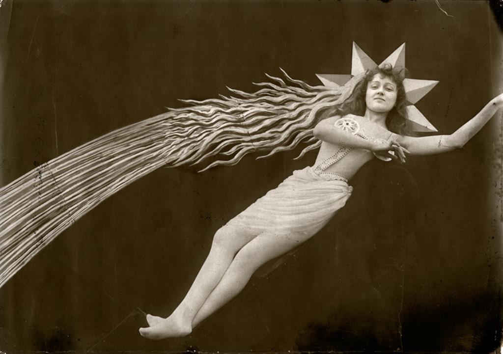 L'étoile filante d'Eclipse de soleil en pleine lune 1907 de Georges Méliès