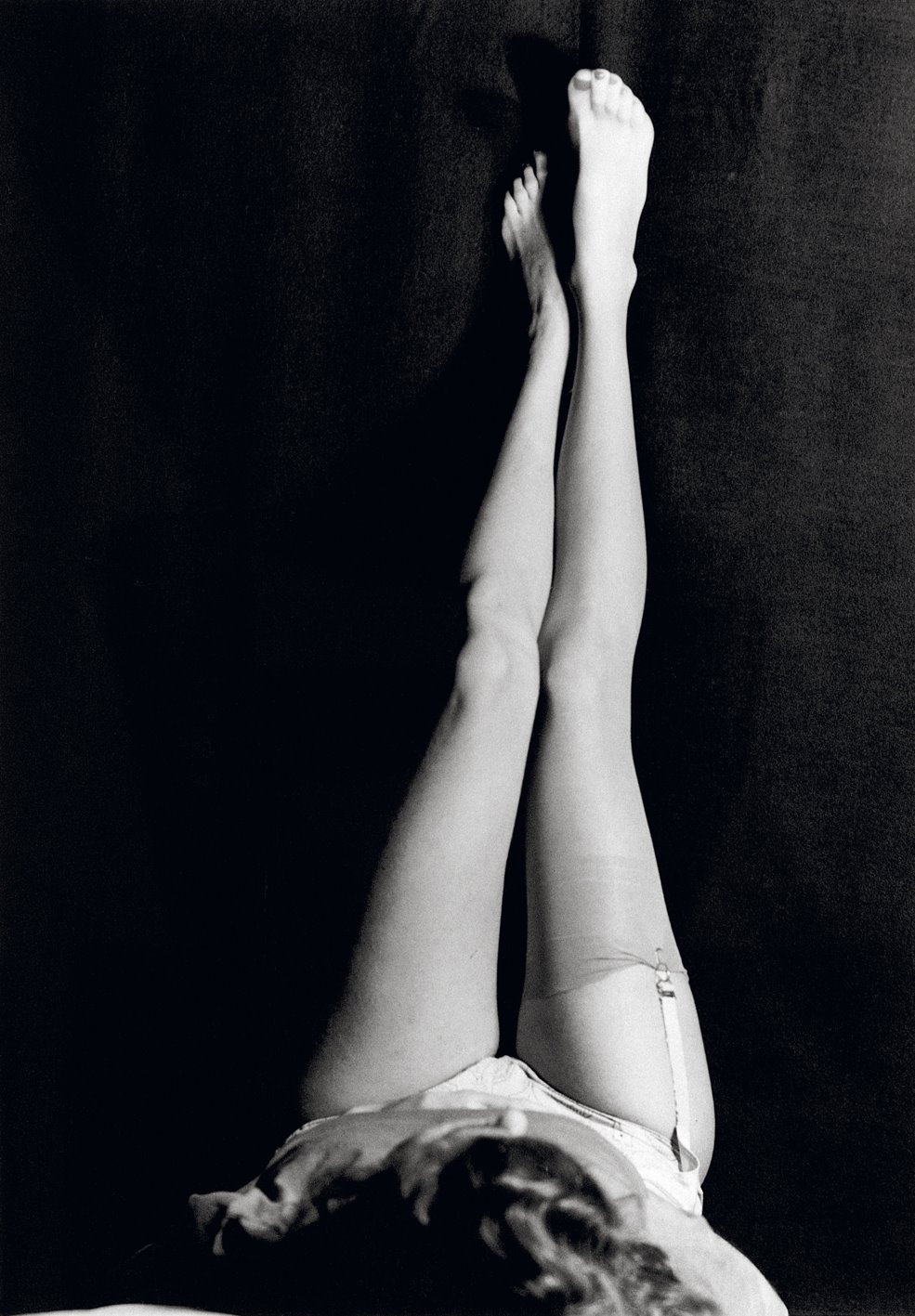Man Ray. Legs and garters®Man Ray Trust. Via devids.net