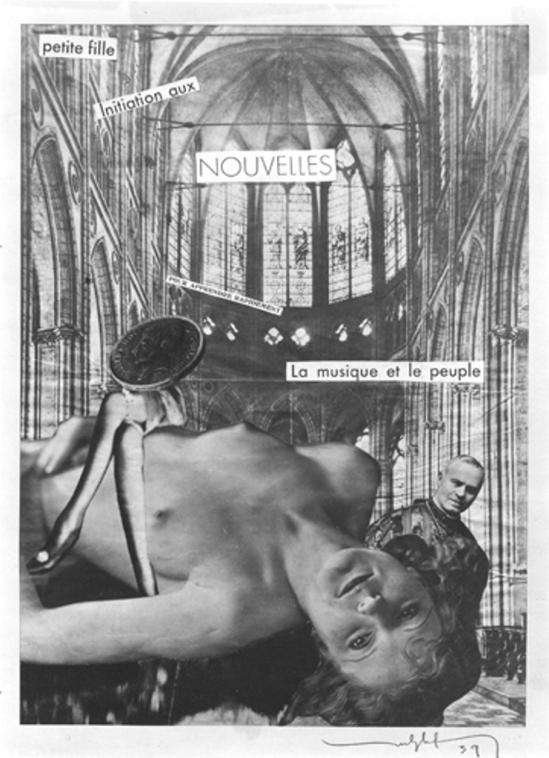 Marcel G. Lefrancq. Initiation ou lettre ouverte à Monseigneur 1939. Via fineartsmuseum.be