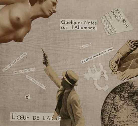 Marcel G. Lefrancq. L'oeuf de l'aigle, 1938. Via lefrancq.be