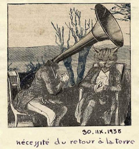 Marcel G. Lefrancq. Nécessité du retour à la terre (1938)). Via lefrancq.be