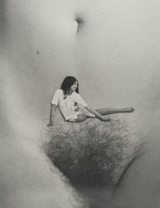 Marcel Mariën. Le tapis volant 1984. Via artnet
