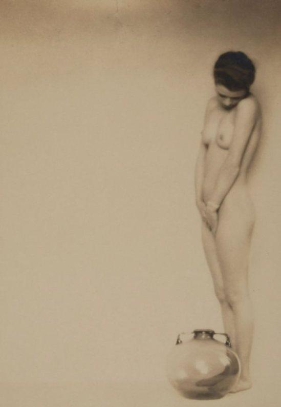 Mario Von Bucovich. Nude 1920s. via liveauctioneers