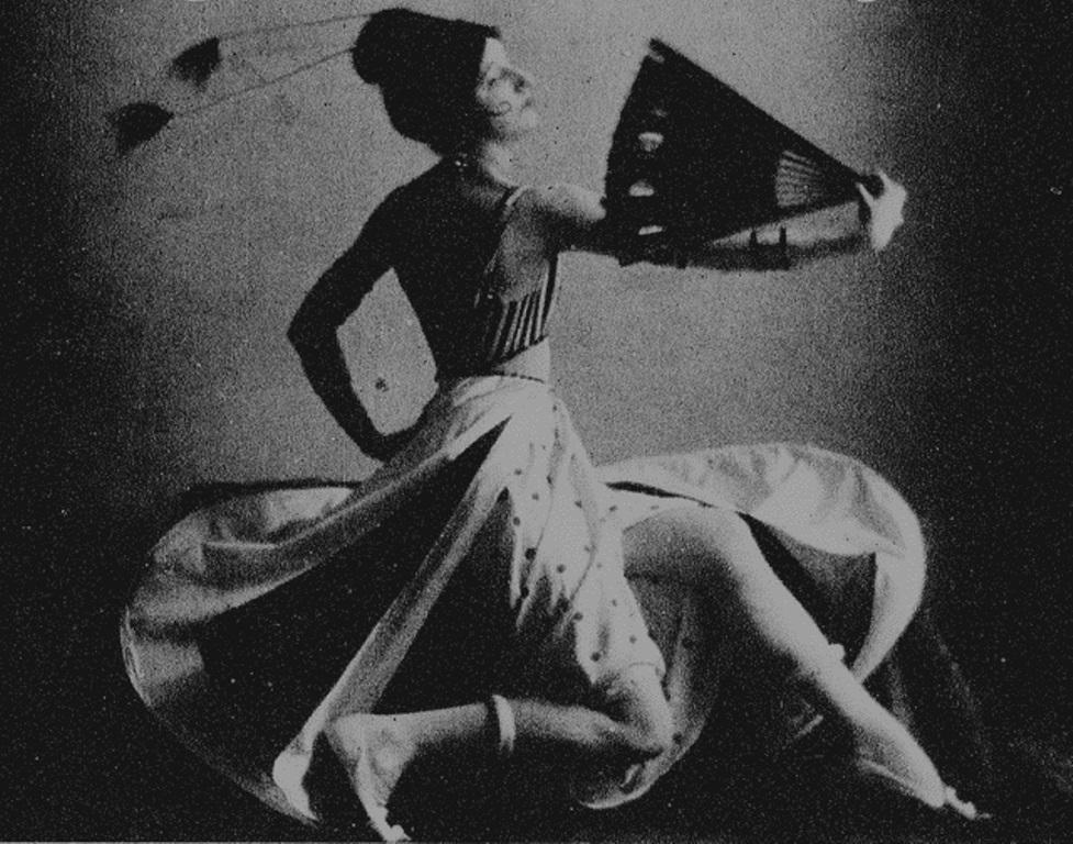 Maurice Goldberg may be. Desiree Lubovska. New-York Tribune 1918. Via historicalzg