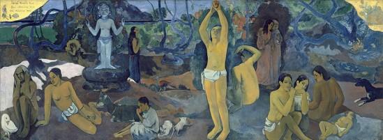 ?????????Paul Gauguin. D'où venons-nous?. Que sommes-nous?.  Où allons-nous ?1897-1898
