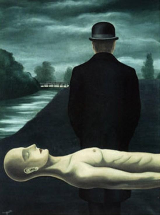René Magritte. Les Rêveries du promeneur solitaire 1926