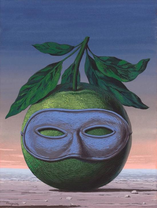 René Magritte. Souvenir de voyage 1961