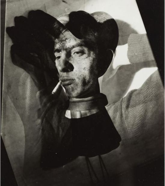 Roger Parry. Montage with glove on face 1931. Via nga.gov.au