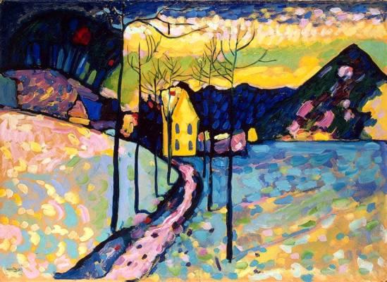 Vassily Kandinsky. Winter landscape  1909