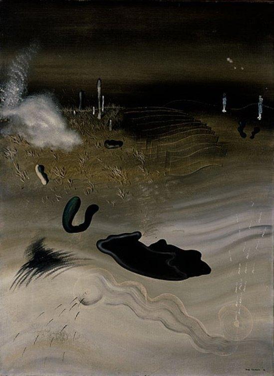Yves Tanguy. Vieil horizon 1928
