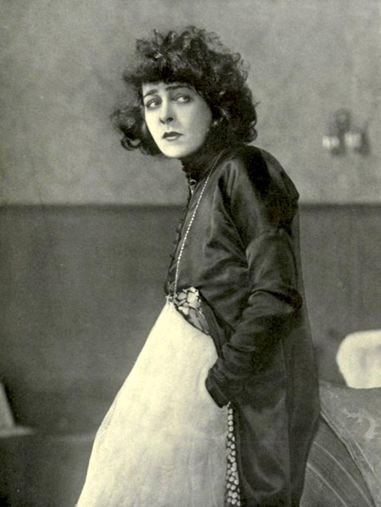 Alla Nazimova2  in Camille 1921. Via allanazimova
