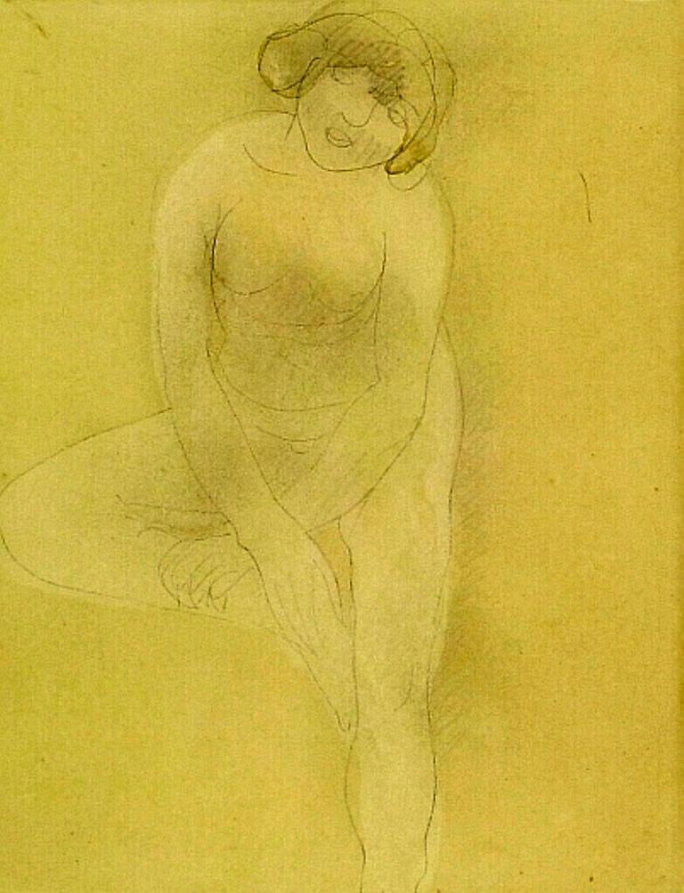 Auguste Rodin. Baigneuse 1895-1900