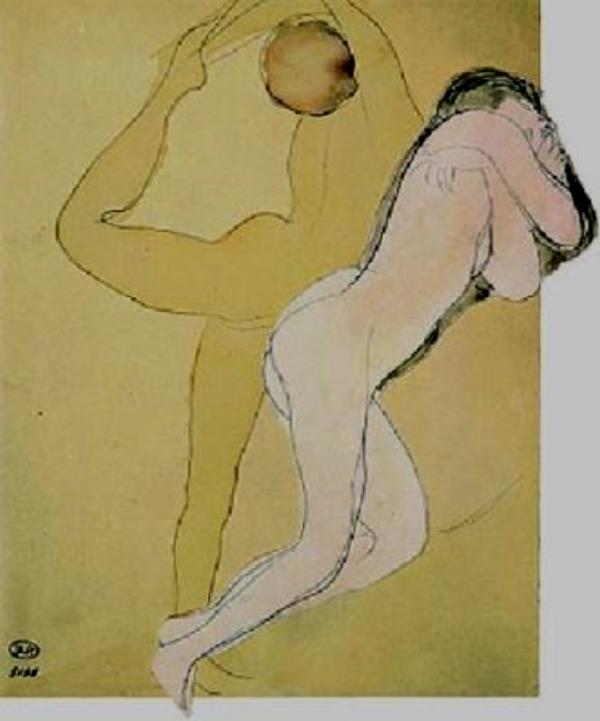 Auguste Rodin. Couple féminin
