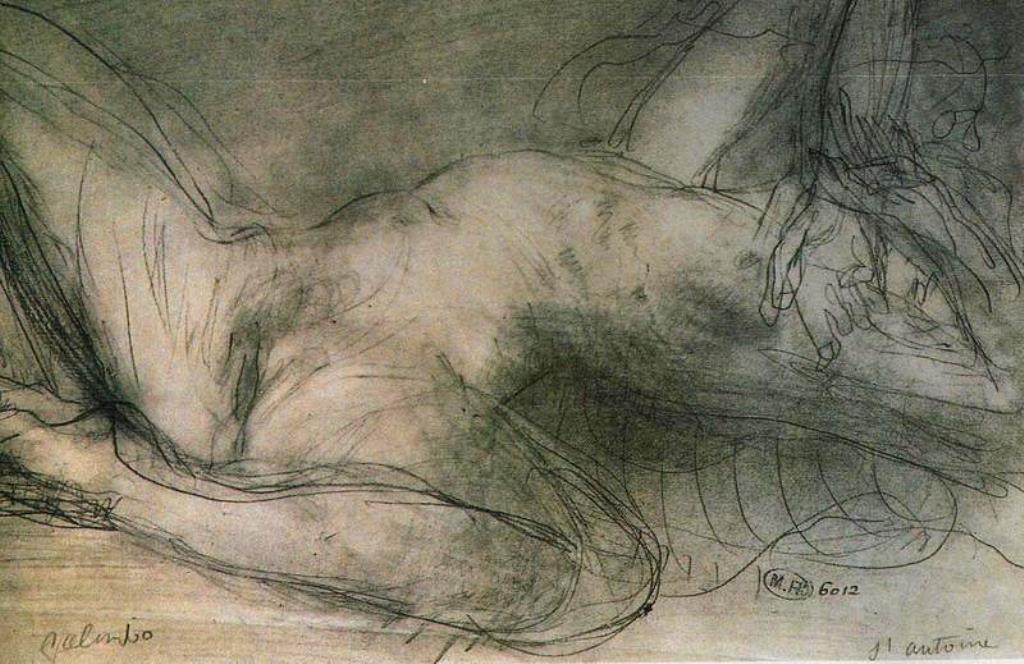 Auguste Rodin. Nu féminin vers 1900