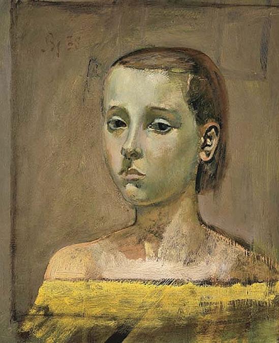 Balthus. Portrait de Thérèse 1939