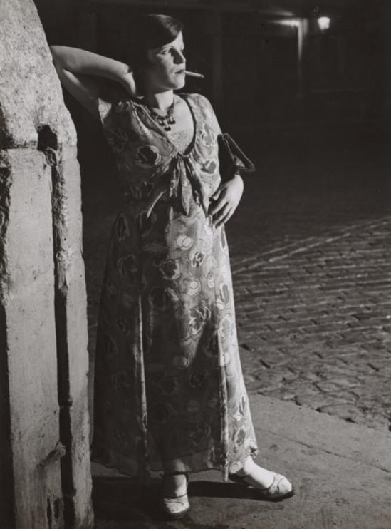 Brassaï. Novice prostitute, Place d'Italie 1931