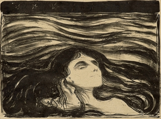 Edvard Munch. On the waves of love 1897