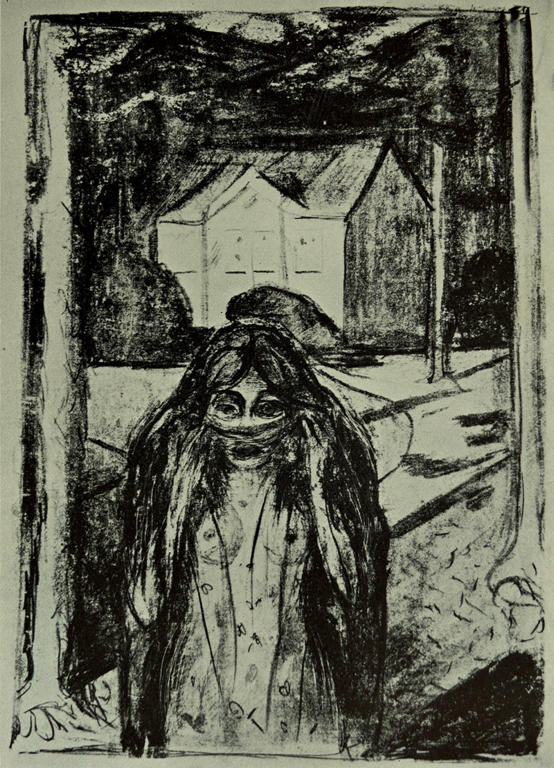 Edvard Munch. the escape 1886