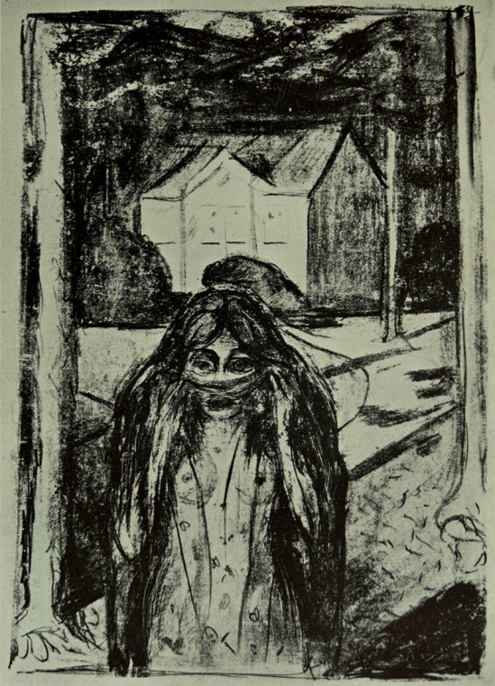 Edvard Munch. the escape 1886
