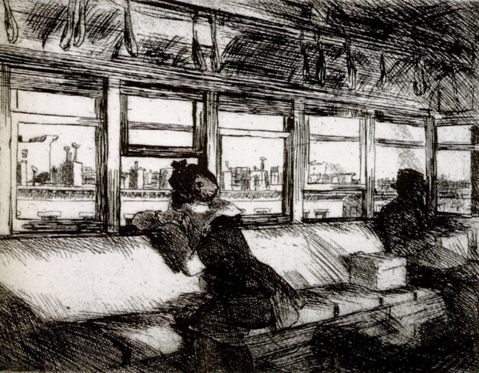 Edward Hopper. House tops 1921