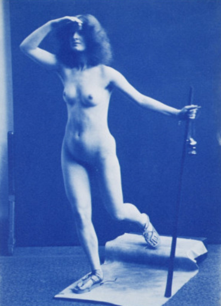 Edward Linley Sambourne. Mabel Hall unclothed 1900. Via allposters