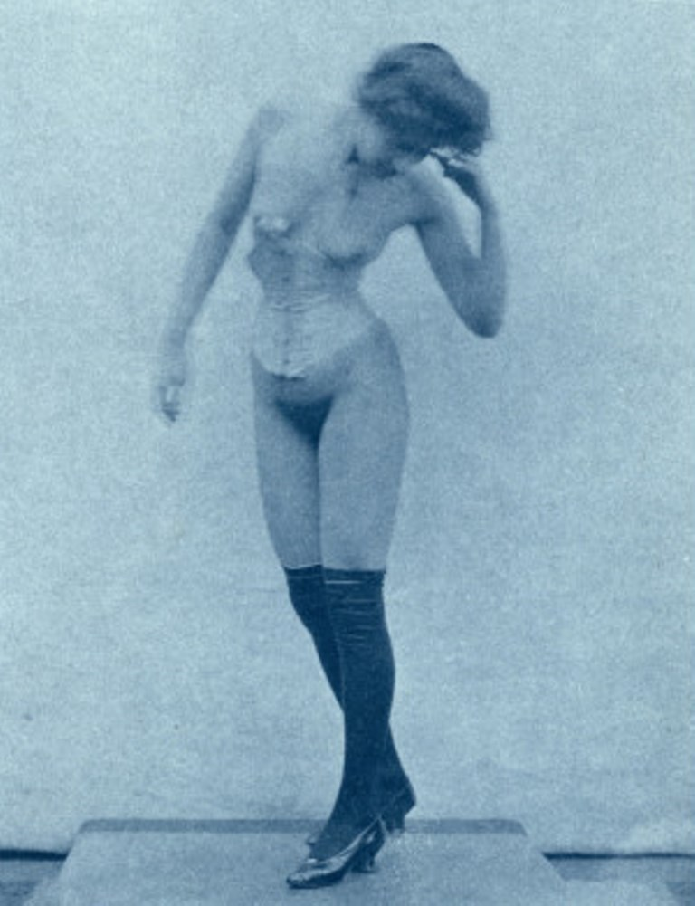 Edward Linley Sambourne. Nu féminin. Via allposters